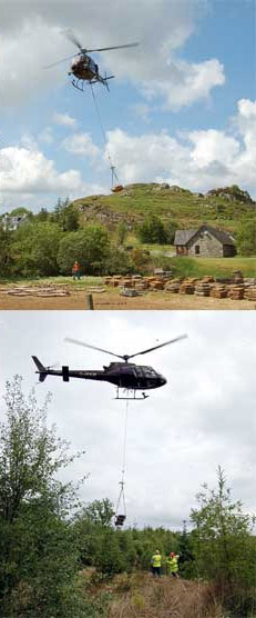 stone slabs being moved from dunadd