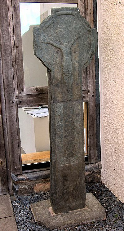 poltalloch cross at kilmartin museum